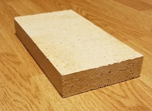 Half Thickness Hard Fire Brick 1.25