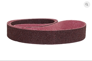 Red Medium Surface Conditioning Belts, 2 x 42 and 2 x 48