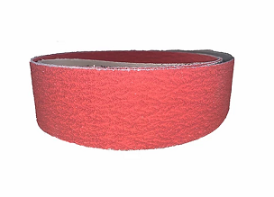 Red Ripper Ceramic Sanding Belt, 2 x 72